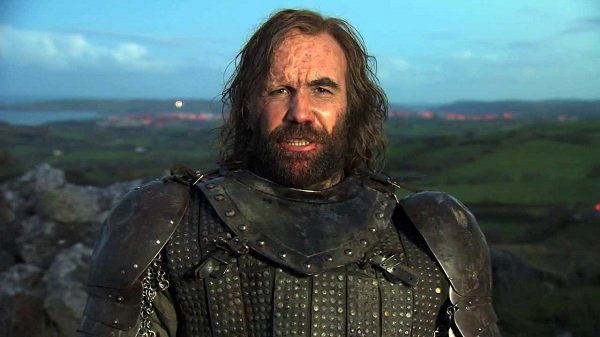 Rory McCann as Sandor Clegane in Game of Thrones