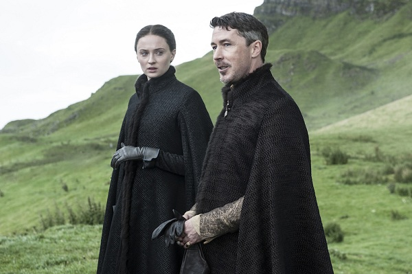 Aidan Gillen as Little Finger in Game of Thrones