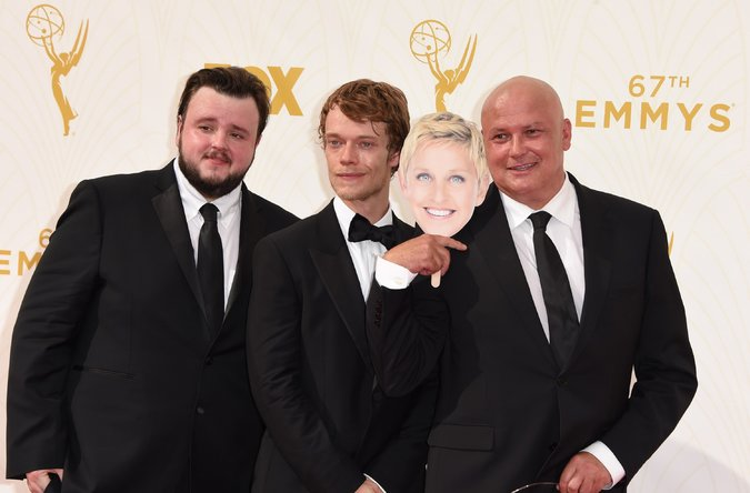Conleth Hill with Game of Thrones Casts