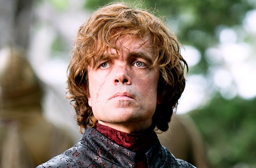 Peter Dinklage as Tyrion Lannister in Game of Thrones Series