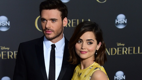 Richard Madden with His Girlfriend