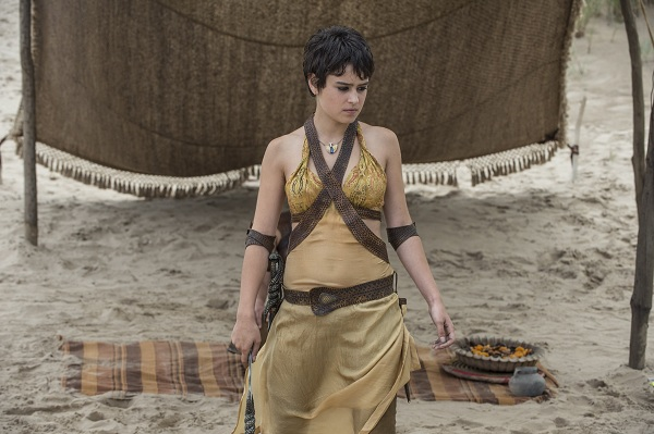 Rosabell Laurenti Sellers as Tyene Sand in Gane of Thrones