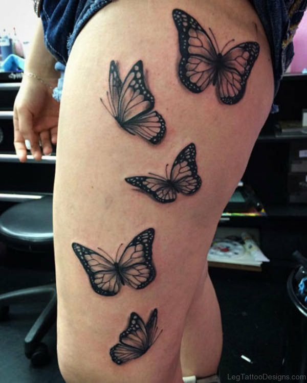 647c29298 157 Beautiful Butterfly Tattoo Designs For Everyone Who Want To Have ...