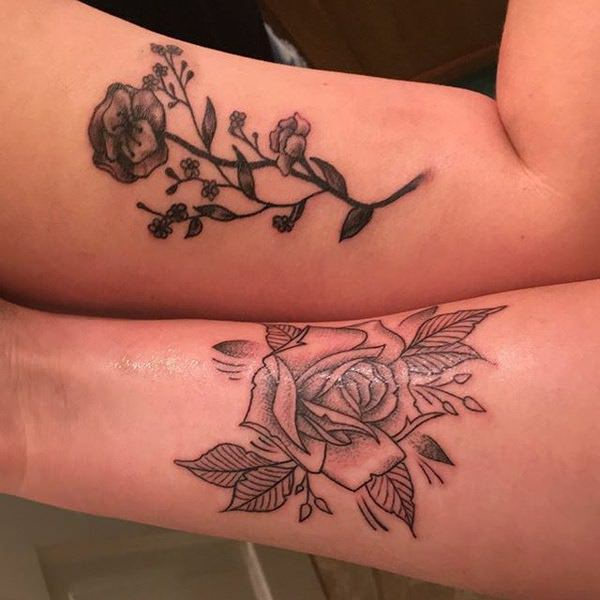 140 Matching Best Friend Tattoos For You And Your Wonderful Best