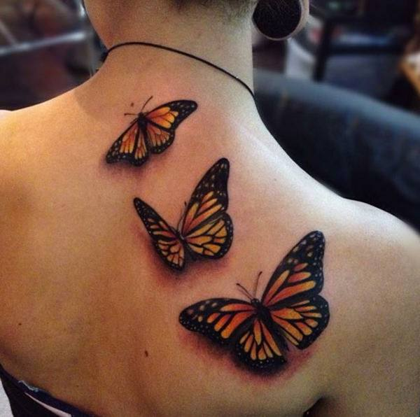 d1085fe313bc1 Here, this is how you make a statement with your tattoos. Such butterfly  tattoos on shoulder mean instant attention everywhere you go.