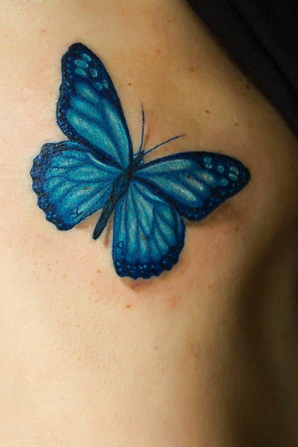 157 Beautiful Butterfly Tattoo Designs For Everyone Who