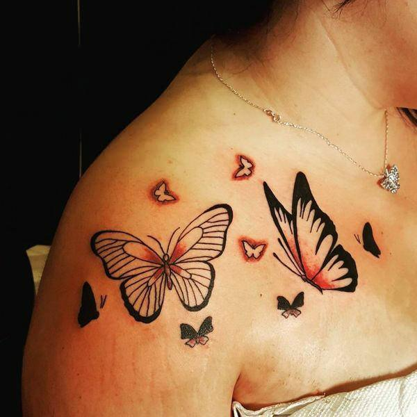 c1e80b048a841 157 Beautiful Butterfly Tattoo Designs For Everyone Who Want To Have ...